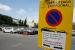 Aquesta nit es tanca l'aparcament del carrer de Garcia Nieto amb l'avinguda de l'Onze de Setembre