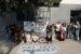 Veïns de Can Filuà protesten per l'increment del lloguer dels pisos del carrer de la Teixidora