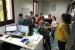 Alumnat de l'Escola Santiga ha iniciat avui l'activitat 'Coneix els Mitjans de Comunicació Municipal'