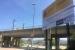 Renfe instal·la el cartell d'inici de construcció de l'estació de la R8