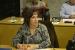Maria Dolores López jura el càrrec de nova regidora a l'Ajuntament amb el grup municipal del Partit Popular durant el Ple