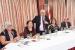 El conseller Andreu Mas-Colell manté una trobada amb empresaris perpetuencs