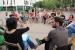 Regidors de la CUP exposen la seva experiència als ajuntaments en un acte de campanya a Santa Perpètua