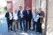 El conseller Josep Rull visita Santa Perpètua en un acte de campanya