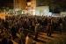 Concentració per rebutjar l'empresonament dels membres del govern català cessat