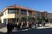 Nova concentració de cinc minuts a la plaça de la Vila per la situació catalana