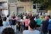 Un centenar de persones reclamen la llibertat de Cuixart i de 'les preses, exiliades i encausades'