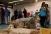 La ceramista Montserrat Riera reflexiona sobre l'habitatge en l'exposició de la Festa Major