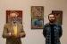Hans Móller presenta una exposició de més de 50 obres a propòsit del poemari Descripción de la mentira