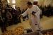 Tres entitats commemoren la festivitat de Santa Prisca a Santiga