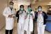 L'Escola Sant Gervasi dona viseres fetes per les seves impressores al CAP Santa Perpètua